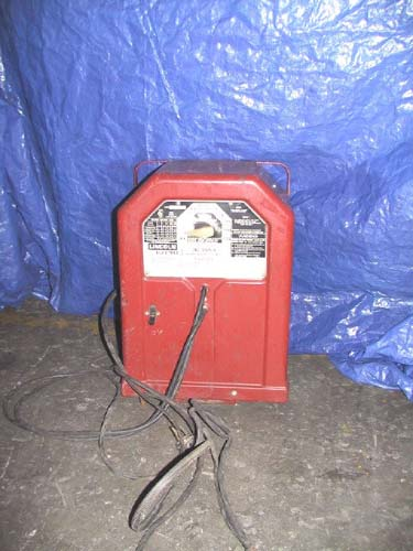 225 Amp, LINCOLN, #AC-225-S, AC arc welder