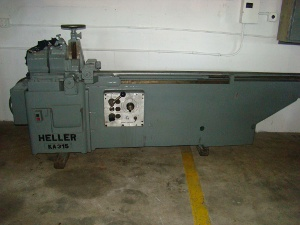 12 , KELLER, No. KA-315, 3.75 rnd, 3.625 sq., fully auto., 39.5 length