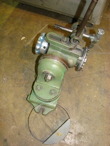 No. 714, MILLPORT, motorized wheelhead, 1/2 HP, sensative workhead, centers