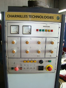 CHARMILLES, #FORM 2-LC, 50 Amp, 13.75 x 19.5 table, 3 axis DRO, PMC, 1994