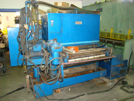 36 , AEM, #370 Prometal Wet, 20 HP, 37 x 60 belt, single head, 1990