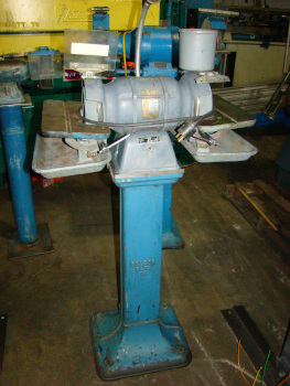 No. 500, BALDOR, 1/2 HP, 6 wheel, on stand, 1 phase, s/n 5755