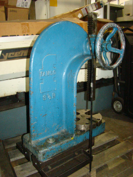 5 Ton, FAMCO, #3-1/2R, lever ratchet type, 10 throat